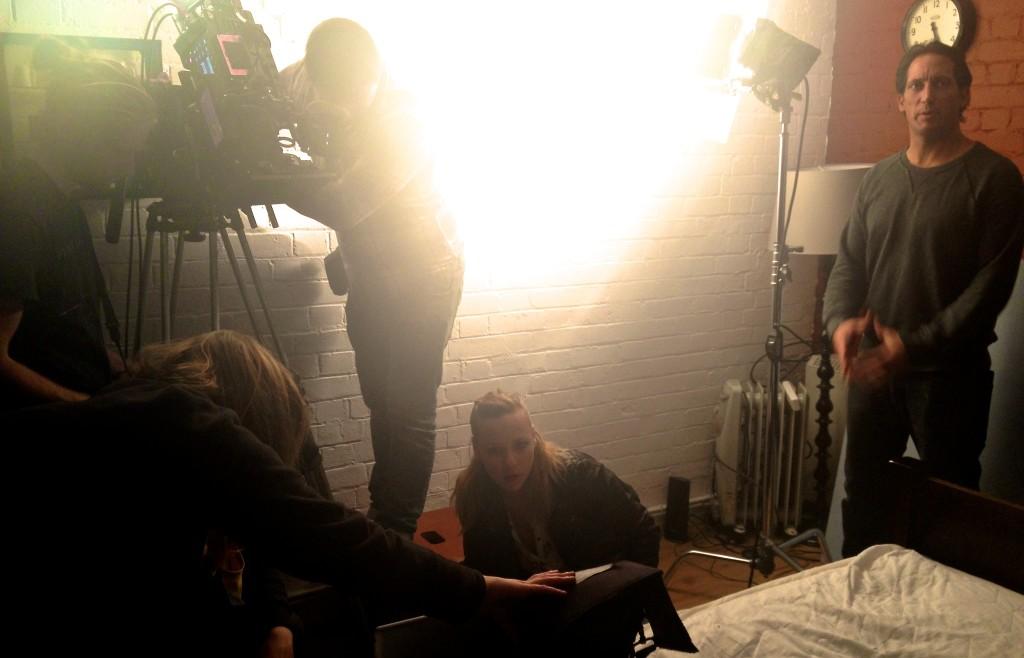 Filming Nina Forever